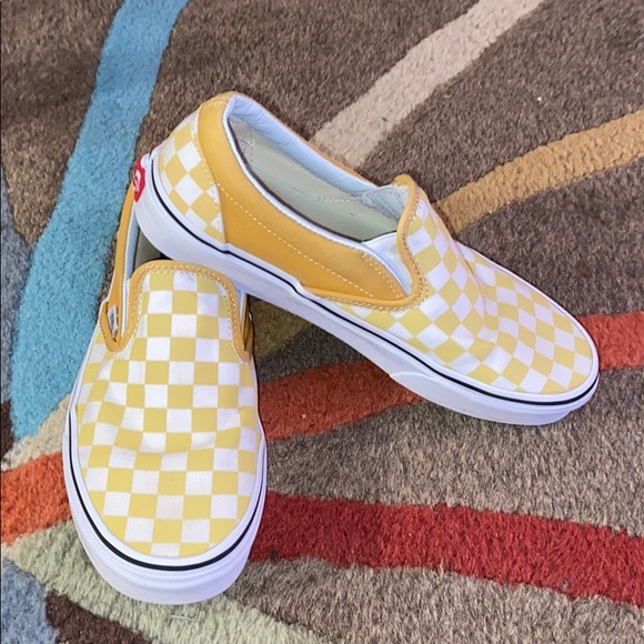 yellow vans outfits